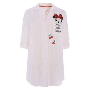 Disney Minnie Mouse Cherry Sleep Night Shirt Dress